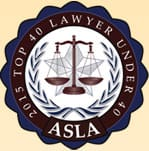 2015 Top 40 Lawyer Under 40 | ASLA